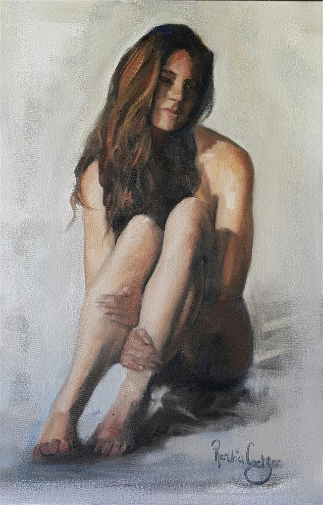 """Fragile"" original fine art by Rentia Coetzee"