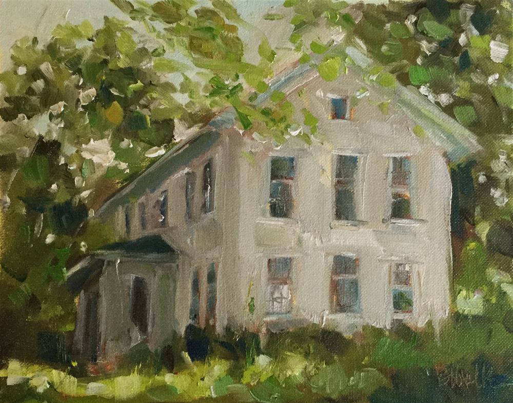 """""""Green Light"""" original fine art by Barb Walker"""