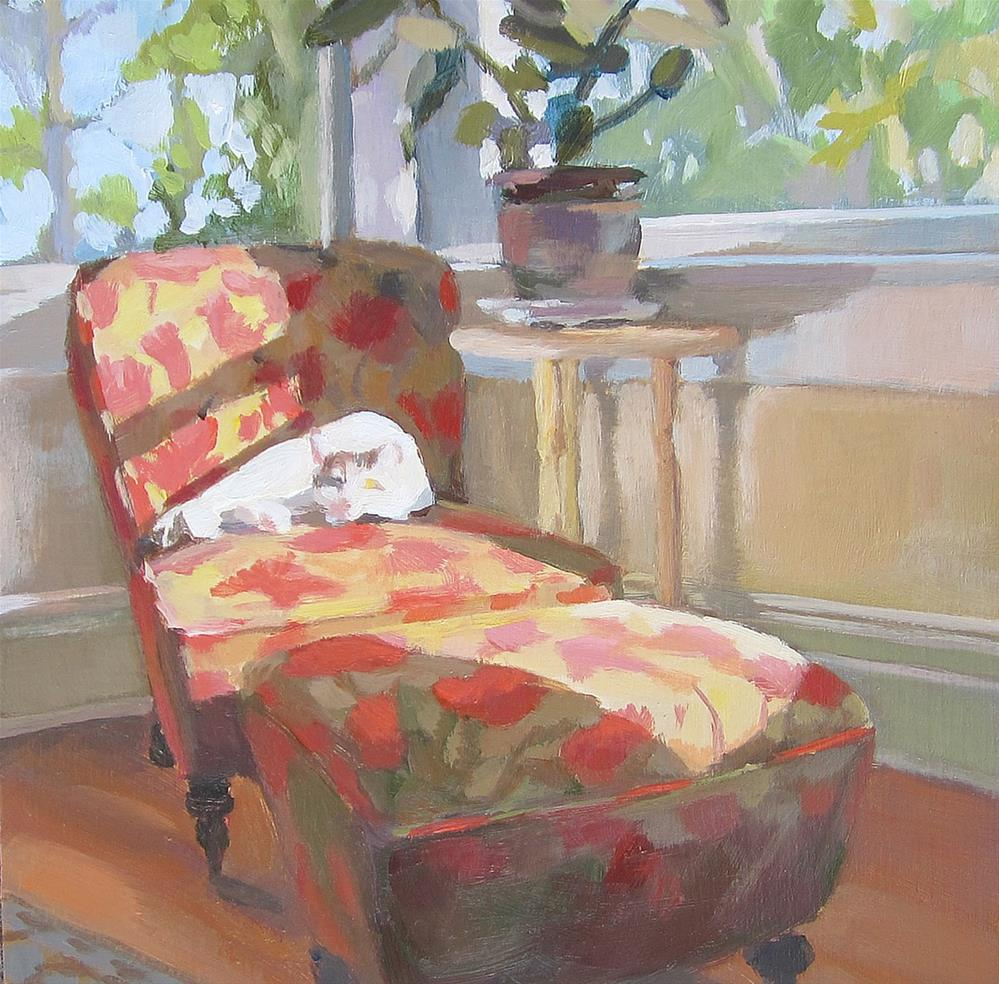 """The Best Seat"" original fine art by Kaethe Bealer"