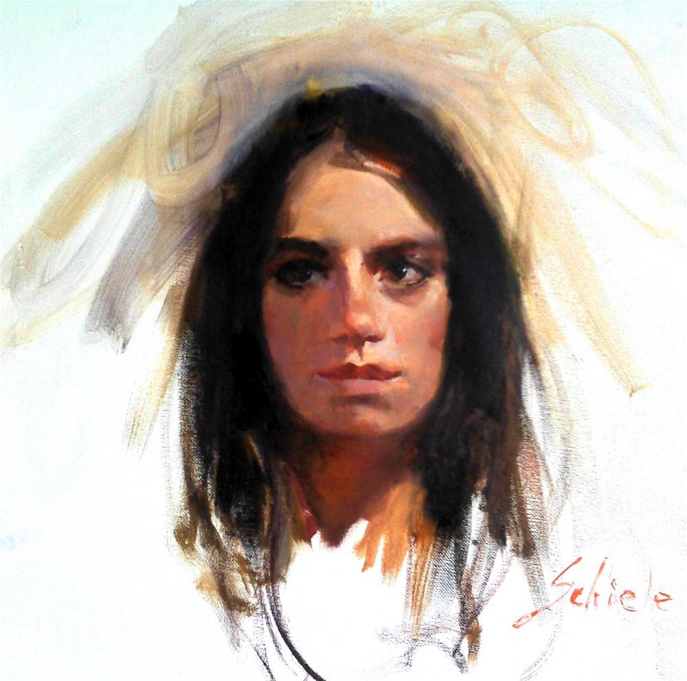 """Lori"" original fine art by Richard Schiele"