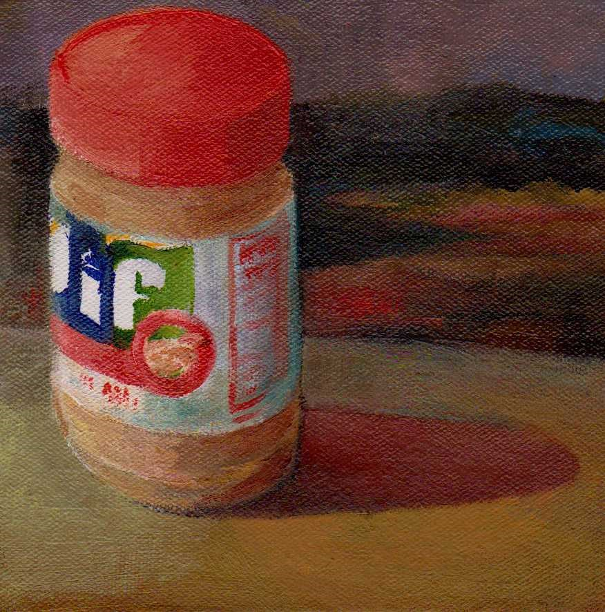 """peanut butter"" original fine art by Mark DeBak"