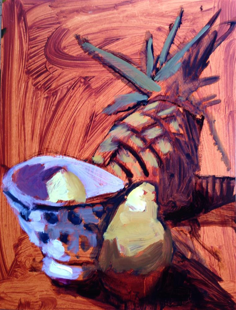 """Hospitality II"" original fine art by Pamela Hoffmeister"