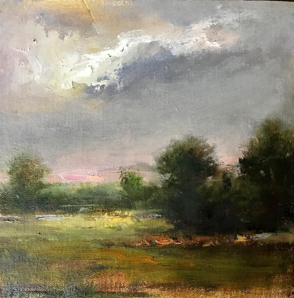 """Clouds"" original fine art by Regina Lyubovnaya"