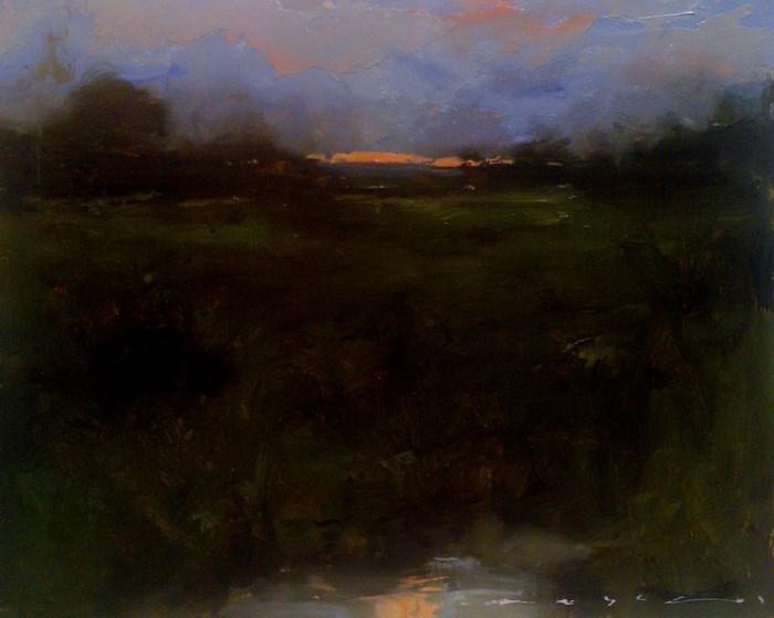 """Landscape_LS15"" original fine art by Angel Angelov"