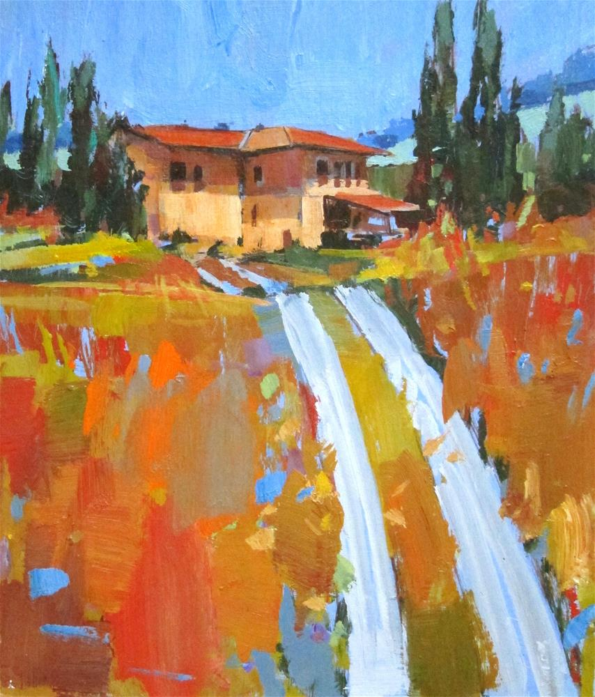 """Fields of Gold"" original fine art by Patti Mollica"