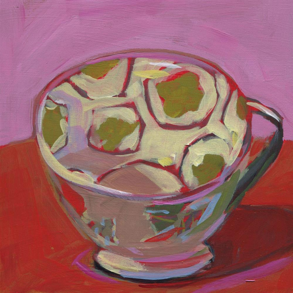 """0533: My Cup is Full"" original fine art by Brian Miller"