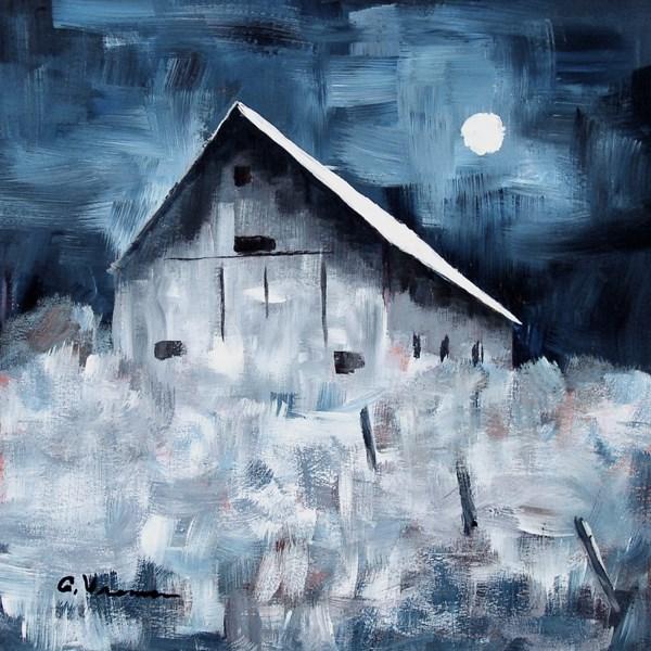 """""""Barn #20"""" original fine art by Anna Vreman"""