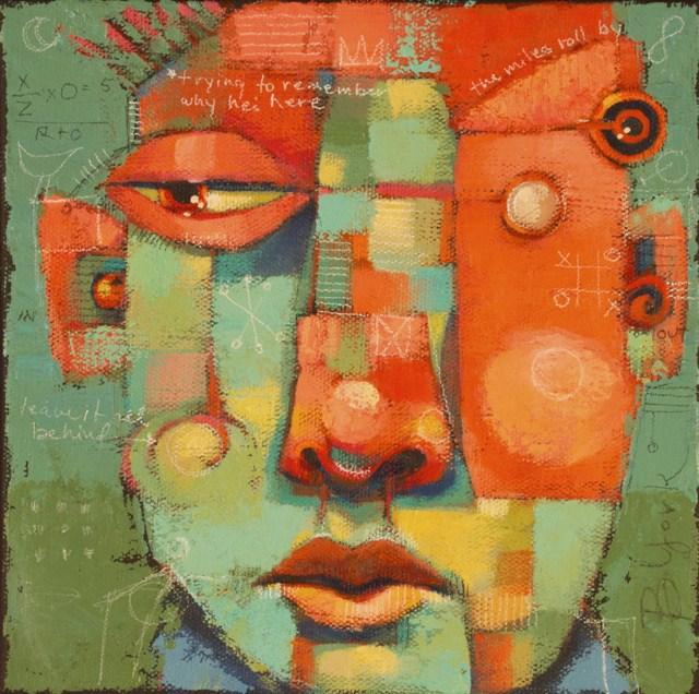 """Haywire"" original fine art by Brenda York"