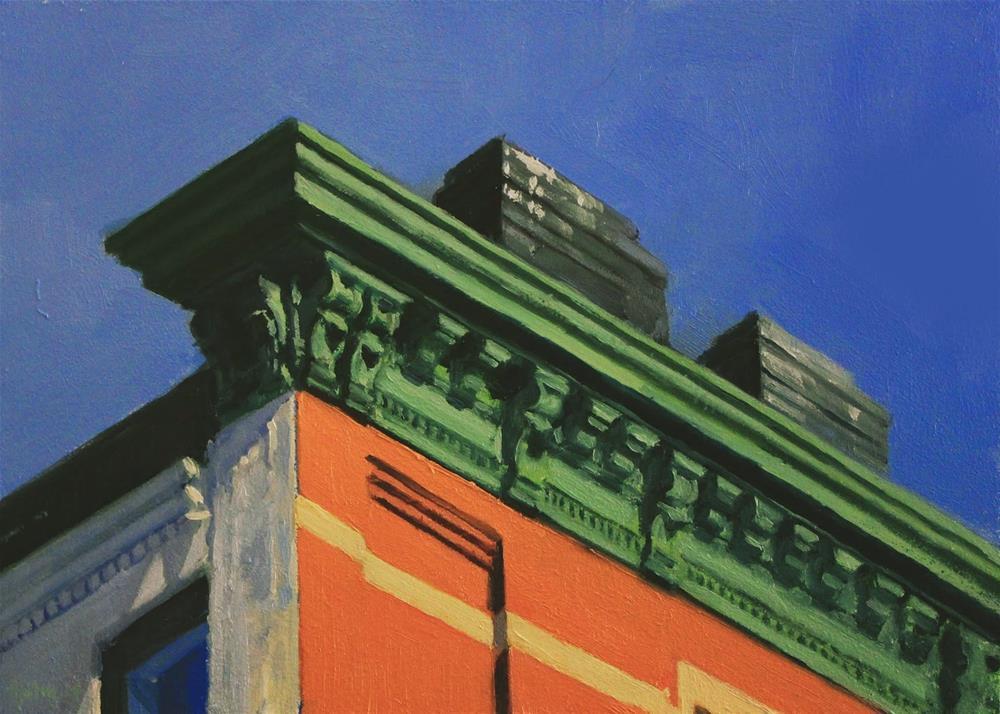 """Chelsea Cornice"" original fine art by Ski Holm"