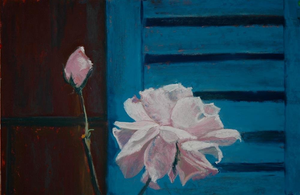 """Summer Rose"" original fine art by Carol Wiley"