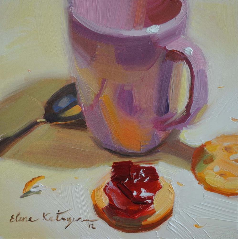 """Dessert"" original fine art by Elena Katsyura"