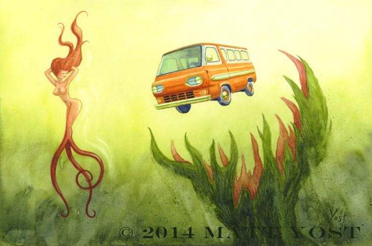 """""""The Decoy 2"""" original fine art by Matt Yost"""