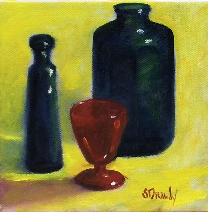 """""""Primaries"""" original fine art by Stephanie Drawdy"""