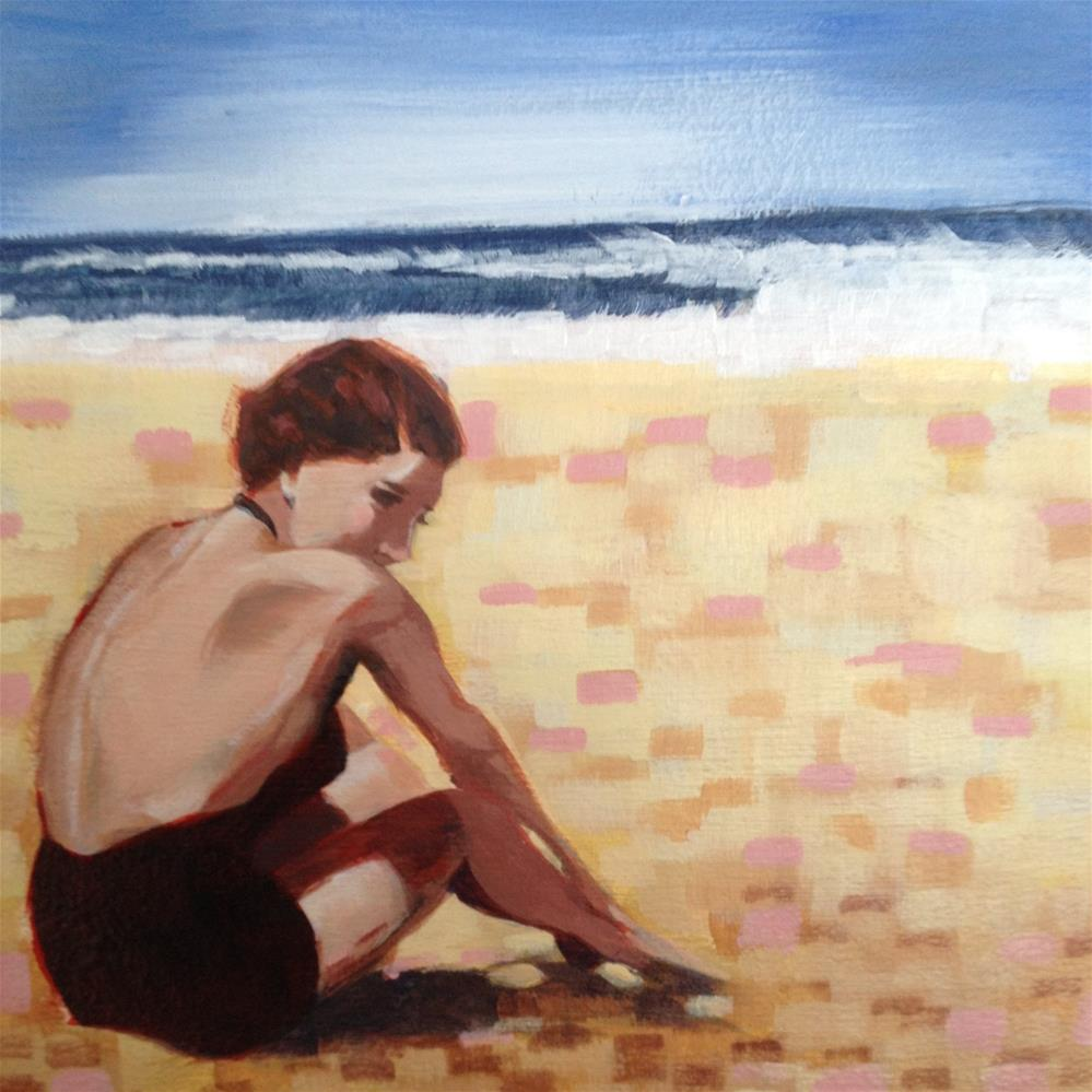 """Solitude"" original fine art by Bev Thibault"