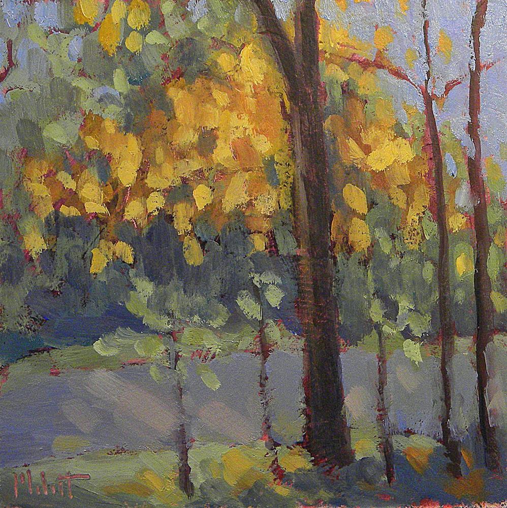 """Autumn Painting Fall Landscape Original Art"" original fine art by Heidi Malott"
