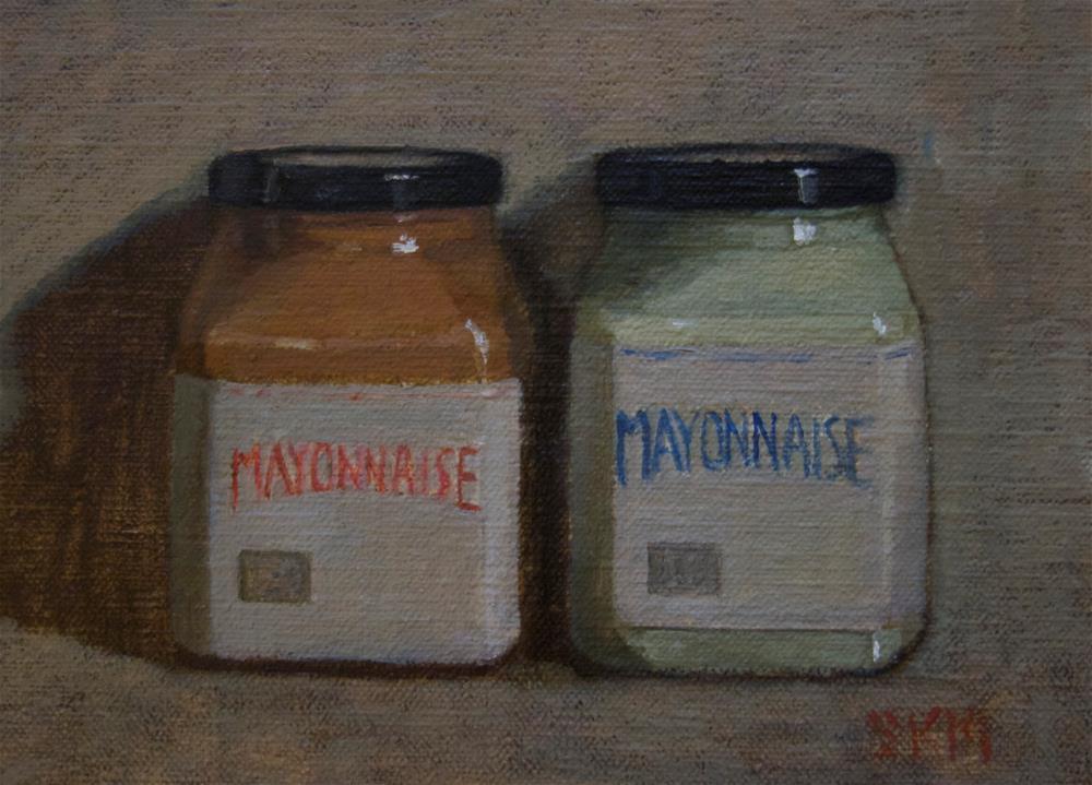 """Mayo"" original fine art by Sarah Meredith"