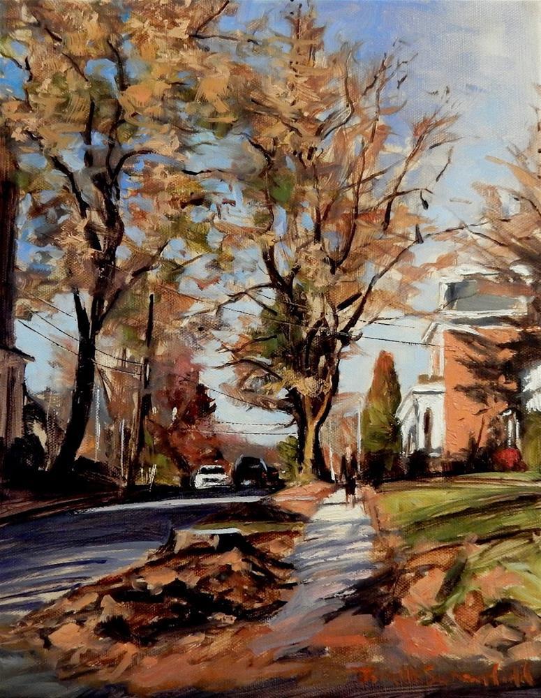 """""""South Sixth Street II"""" original fine art by Jonelle Summerfield"""