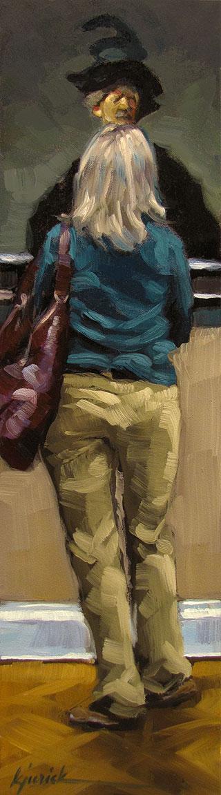"""Close Encounter"" original fine art by Karin Jurick"