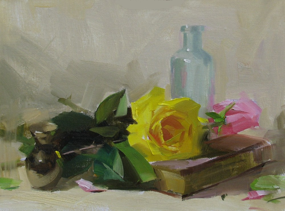 """""Demo at Magnolia 2012 2 --- Sold"" original fine art by Qiang Huang"