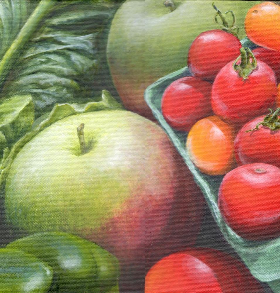 """""""Farm Fresh"""" original fine art by Debbie Shirley"""