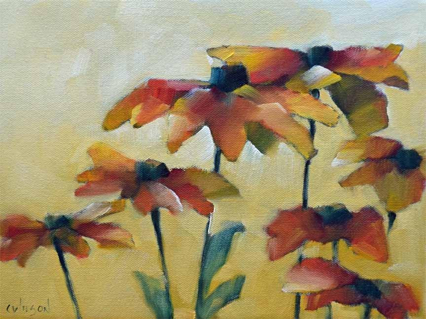 """""""Susans Bunch 5"""" original fine art by Cheryl Wilson"""