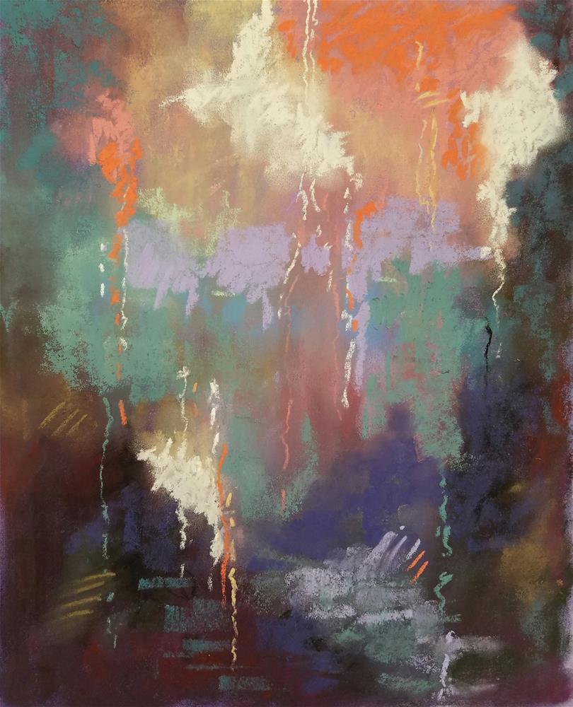 """Untitled 923"" original fine art by Cindy Haase"