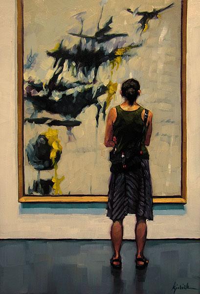 """Facing the Music"" original fine art by Karin Jurick"
