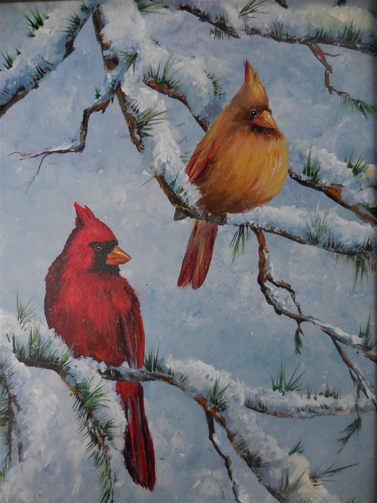 """The Couple"" original fine art by Terri Nicholson"
