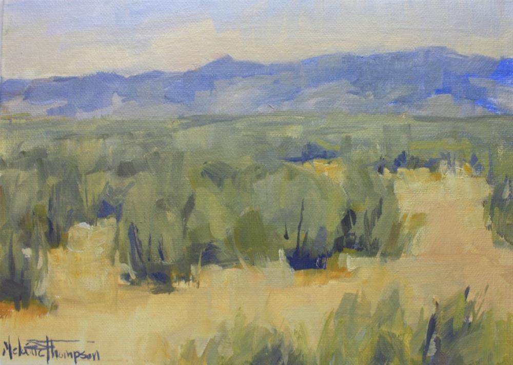 """""""Oregon Spring"""" original fine art by Melanie Thompson"""