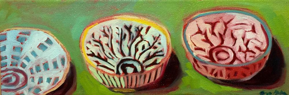 """0440: Three Bowls"" original fine art by Brian Miller"