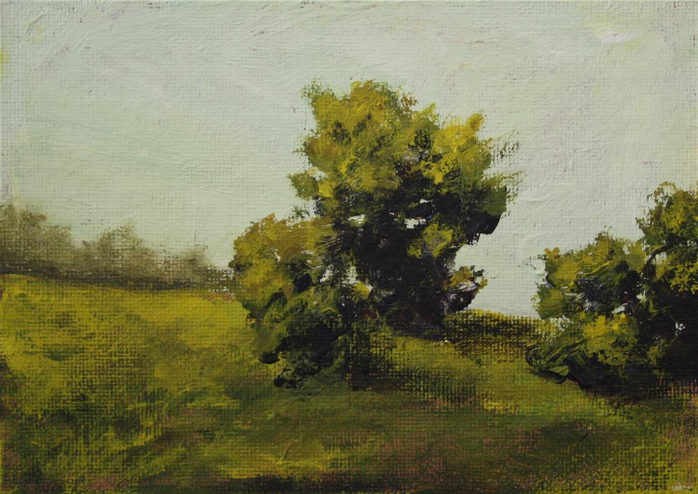 """Tree Family"" original fine art by Shannon Bauer"