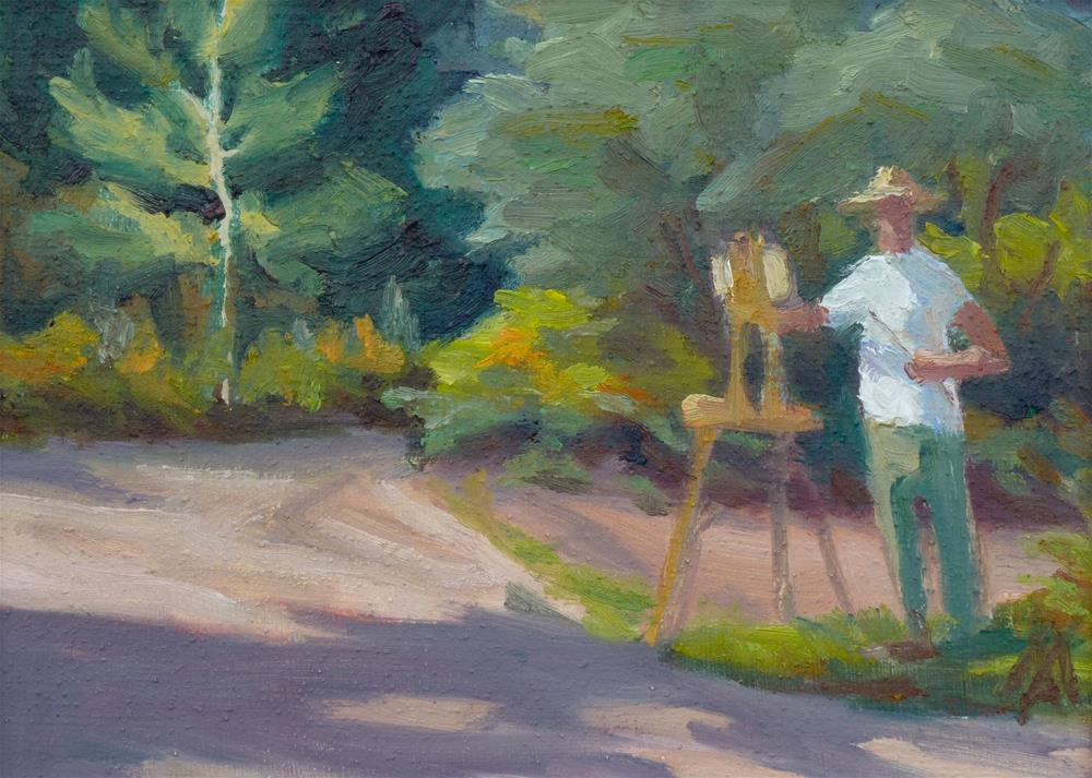 """The Artist"" original fine art by Mark Allison"