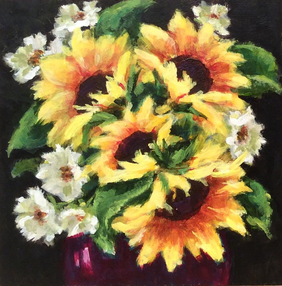 """Joy"" original fine art by wendy black"