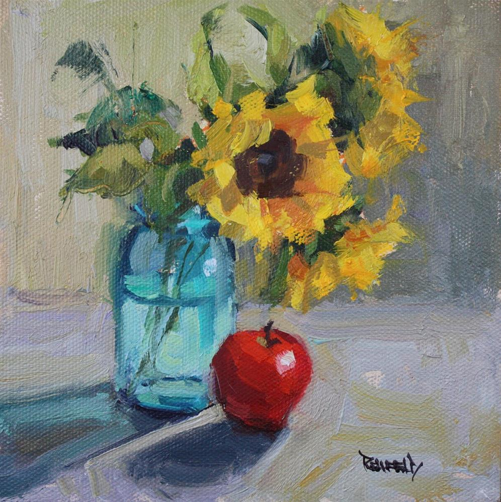 """Afternoon Light"" original fine art by Cathleen Rehfeld"