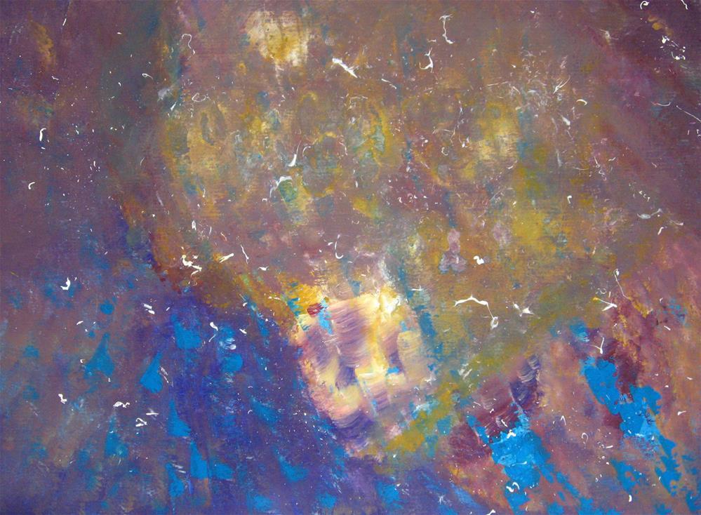 """Space Waste"" original fine art by Alina Frent"