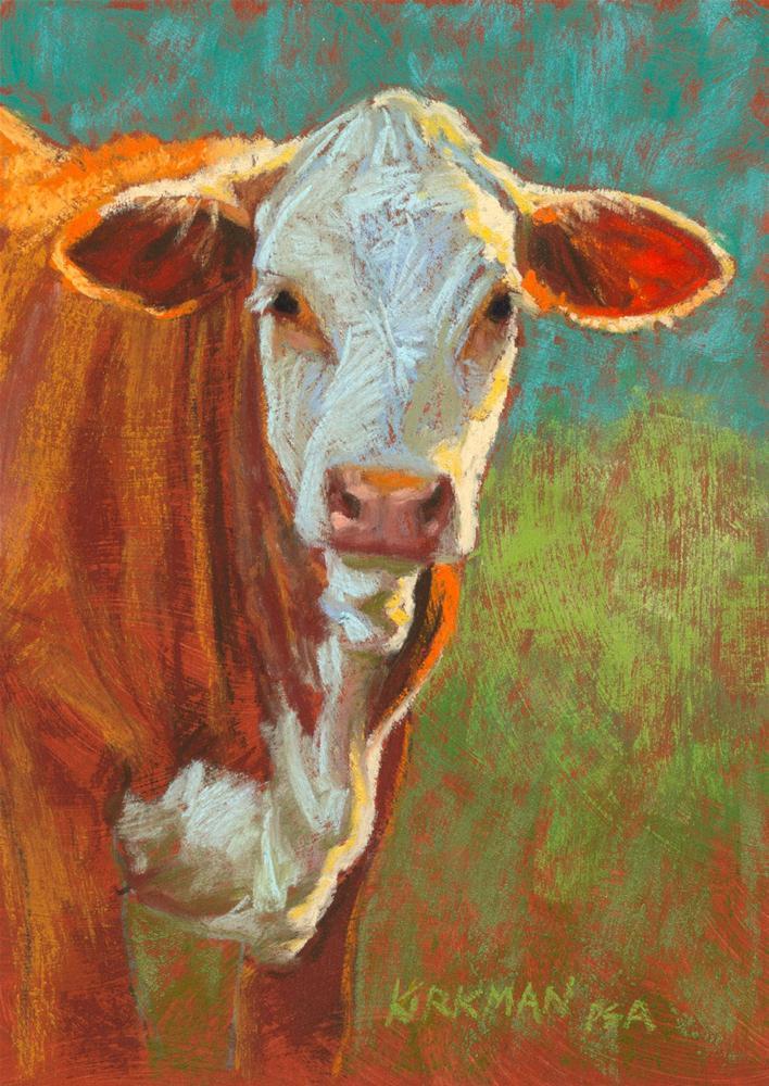 """""""Duncan"""" original fine art by Rita Kirkman"""