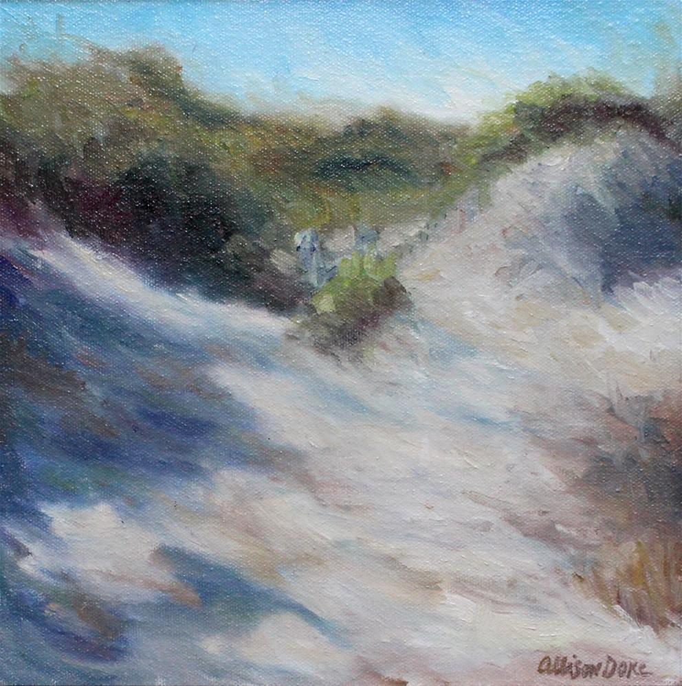 """Beach at St. Simon Island, Ga"" original fine art by Allison Doke"
