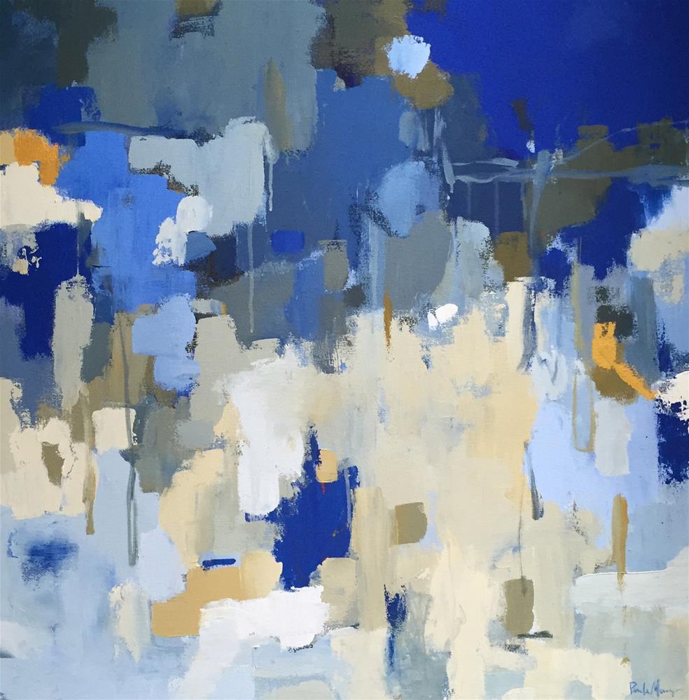 """Oceanic"" original fine art by Pamela Munger"
