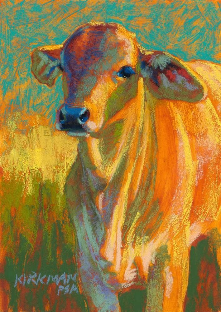 """Colby"" original fine art by Rita Kirkman"