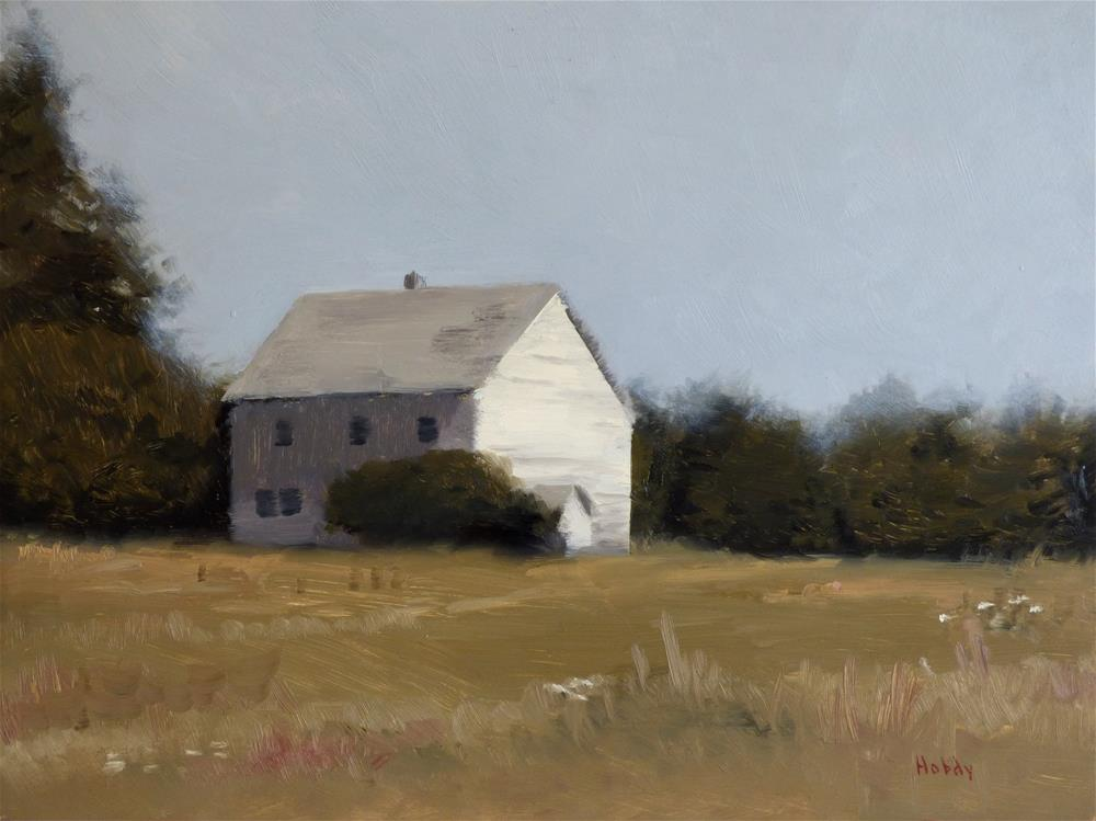"""""""Old Remer Church"""" original fine art by Weston Hobdy"""