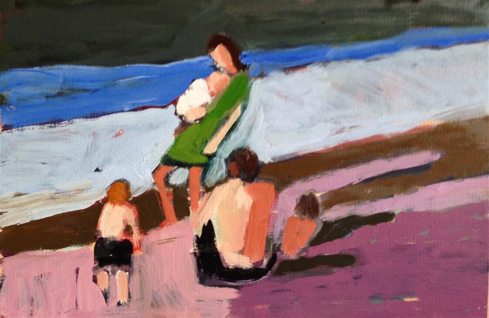 """Early Morning"" original fine art by Pamela Hoffmeister"