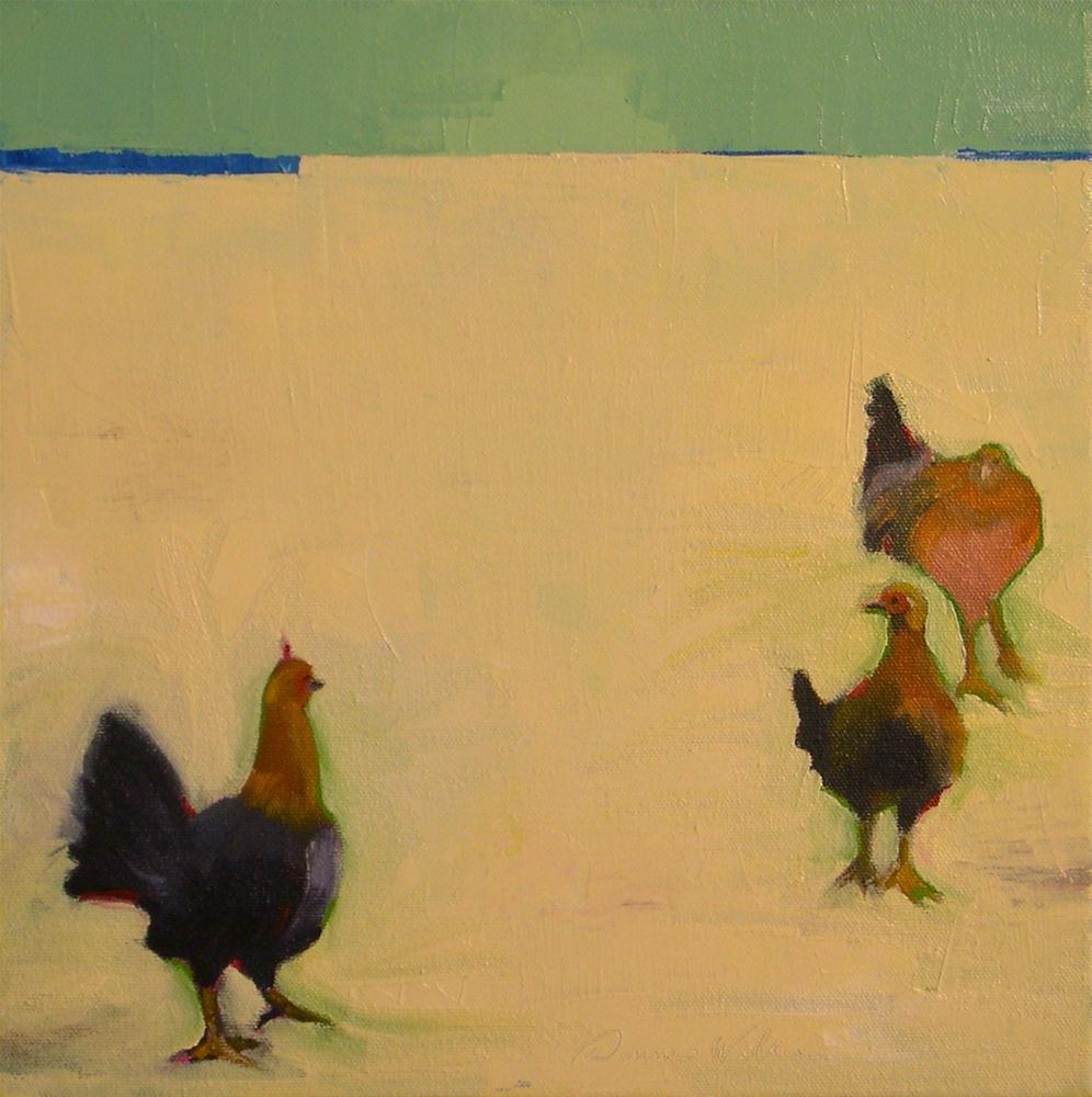 """""""I Notice You"""" original fine art by Donna Walker"""