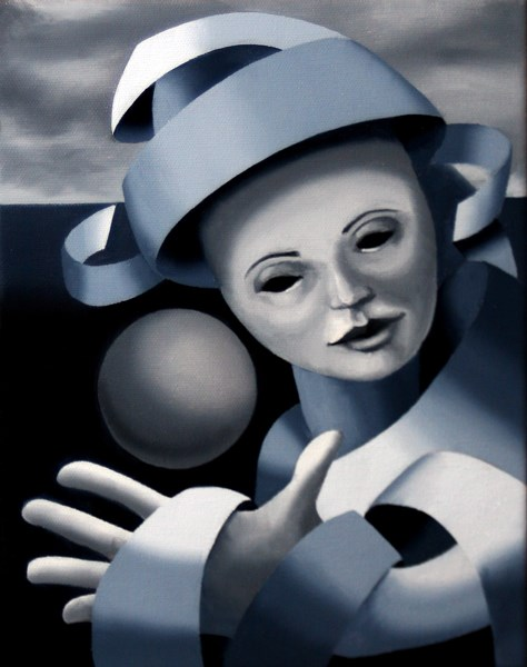 """""""Mark Webster - Gray Matter #7 - Abstract Grayscale Oil Painting"""" original fine art by Mark Webster"""