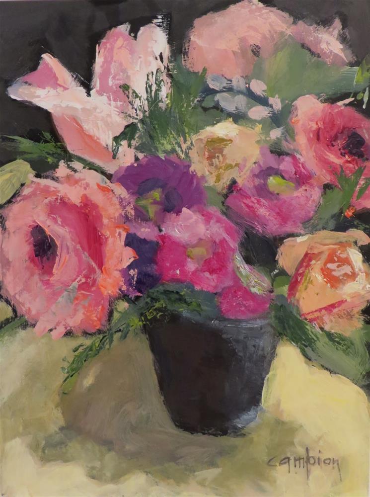 """957 New Beginnings"" original fine art by Diane Campion"