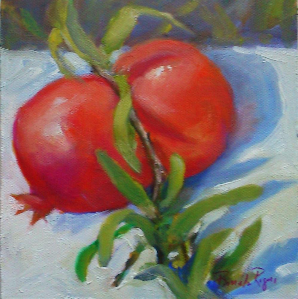 """Seeds Within"" original fine art by Pamela Jane Rogers"