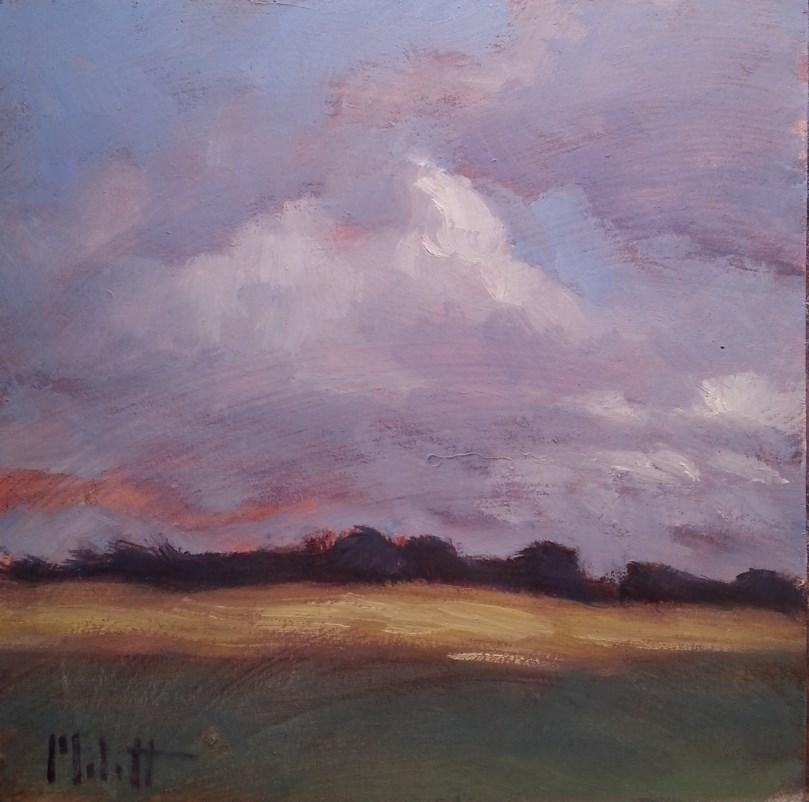 """Impressionist Landscape"" original fine art by Heidi Malott"