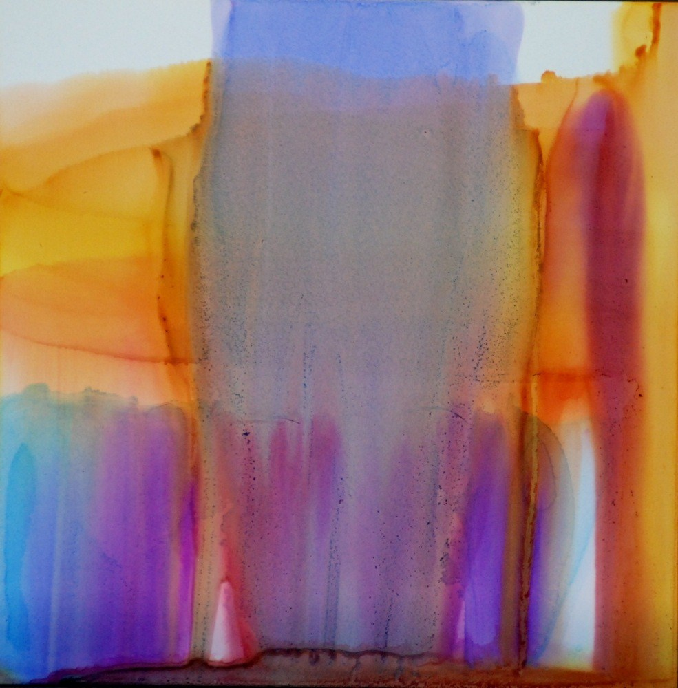 """Mirage 8"" original fine art by Vicki Wood"