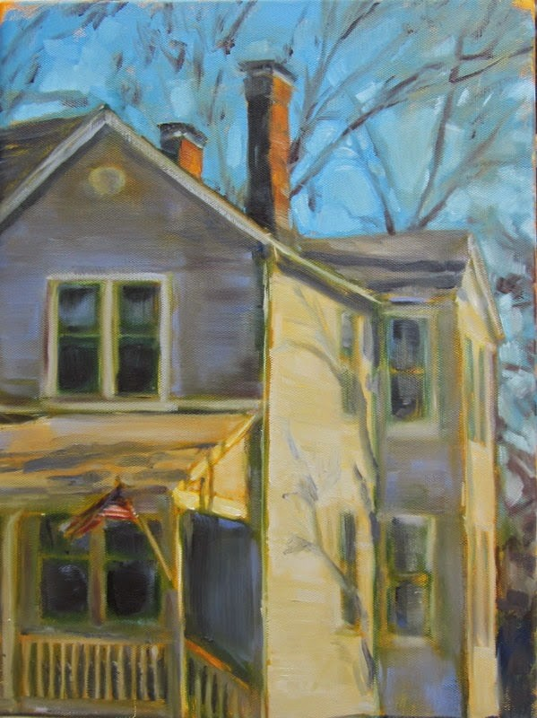 """Tuxedo Park"" original fine art by Sandy Haynes"