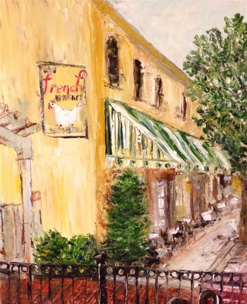"""""""French Market South Side"""" original fine art by Elaine Ford"""