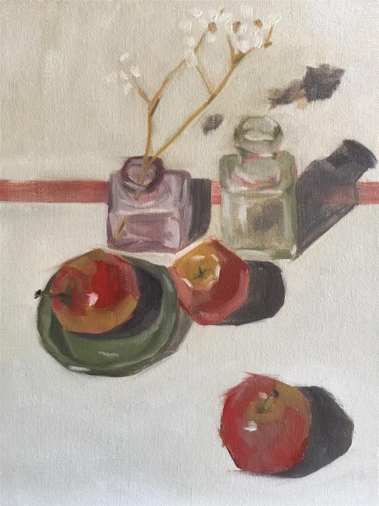 """""""338 Easy Like Sunday"""" original fine art by Jenny Doh"""